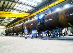 Gia công ống khói nhà máy nhiệt điện